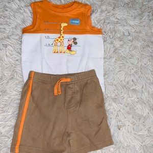 Disney Mickey Tank Top Outfit